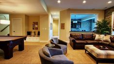 Traditional Small Basement Remodeling Ideas Basement Design Ideas, Pictures, Remodel and Decor Basement Paint Colors, Basement Painting, Basement Remodel Diy, Basement Remodeling, Remodeling Ideas, Basement Waterproofing, Basement Decorating, Bedroom Remodeling, Decorating Tips