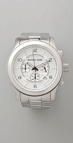 a126349d736d Mens Oversized Watch - Lyst Michael Kors Crossbody