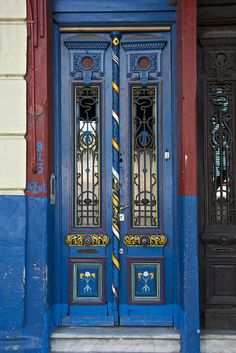 Colourful Door, La Boca, Buenos Aires   Flickr - Photo Sharing!