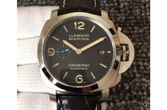 Panerai PAM 312 O V6F 1:1 Best Edition on Black Leather Strap P9010