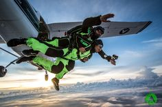 Tandem skydiving, climbing, kayaking, flying and more adrenaline tours. Book active holiday on amazing location with top rated adventure company in Croatia. Tandem Jump, Skydiving, Croatia, Kayaking, Clouds, Vacation, Sunset, Men Party, Kayaks