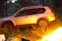 #nissan #xtrail #t31 #forrest #fire