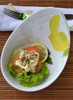 """Contenitore in porcellana """"Apostrofo"""" con decoro """"Sorrento"""". Perfetto per  i#insalate  www.ancap.it"""