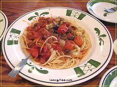 Olive Garden Copycat Recipes: Spaghetti Delle Rocca