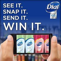 NEW Dial® Coconut Water and Skin Therapy Body Washes are getting noticed! Tell us where you find us and you could win $50 and our new body washes. Enter today!