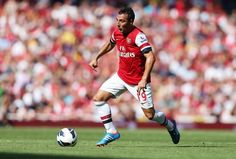 Excited to see Santi Cazorla play for the Gunners.  Looked great in his debut!