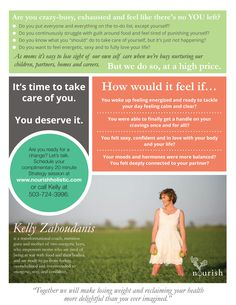 Graphic Design Services - Holistic Health Coach Flyer