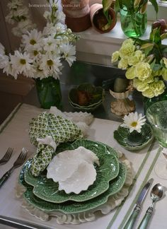 I'm in the Potting Shed with all things green for St. Patrick's Day and inspiration from an Irish Blessingfor a little tabletop fun! With St. Patrick's Day on the horizon and spring around the cor...