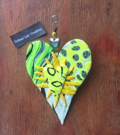 Twisted Heart Wall Hanger