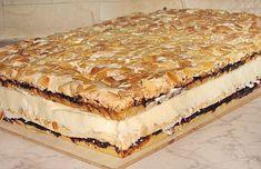 Pani walewska Polish Desserts, Polish Recipes, Pie Recipes, Sweet Recipes, Cooking Recipes, Polish Food, Hungarian Desserts, European Dishes, Sweet Bakery