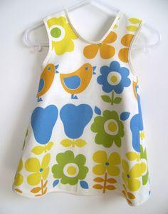 Baby en peuter schort kleding naaien patroon PDF door OwlyBaby