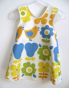 Baby and Toddler Pinafore Dress Sewing Pattern PDF by OwlyBaby, $10.00