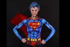 Esta artista se transforma en personajes de comics (Video)