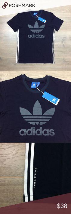 new Adidas Originals TKO T Shirt Indigo Navy Tokyo Adidas Originals TKO T Shirt - Indigo Navy Tokyo New Men Tee   Men's Size  L, XL, 2XL Adidas Shirts Tees - Short Sleeve