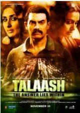 """Talaash Türkçe Altyazılı HD İzle - HDFilmvar.com-"""" HD Film İzle """"  Talaash Türkçe Altyazılı HD İzle  Bir polis(Aamir Khan) , Bir ev kadını(Rani Mukherjee) ve bir fahişe(Kareena Kapoor) beklenmedik bir şekilde hayatlarını bağlayan bir gizem içinde buluşurlar."""