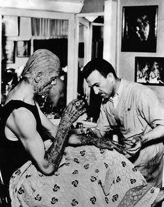 THE MUMMY (1932) Actor: Boris Karloff Make-up Artist: Jack Pierce Hours In The Chair: 10