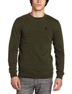 WeSC Men's Sylvester Crew Neck Sweatshirt « Clothing Impulse