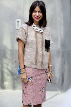"""Sometimes pieces that don't shout """"pair us together!"""" have a magical way of looking utterly chic."""