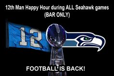 Island Soul Restaurant & Catering #Fan #Seahawks #12th Man #Happy Hour #Seattle #Columbia City