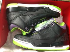 246c9ddf8deece 2013 Authentic Air Jordan 3 Joker Air Jordan III  Joker  Jordan Sneakers
