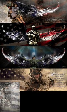 Military Bundle - No Greater Love Art  - 1
