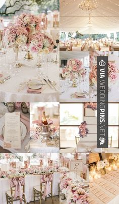 Wedding Colour Schemes 2016 – 4 Dreamy and Romantic Wedding Reception Themes. To see more: http://www.modwedding.co… | Wedding Pins! The Best Wedding Picture Ideas! Create Your Wedding Picture List Today!
