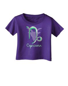 Capricorn Symbol Infant T-Shirt Dark