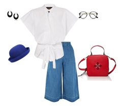 """""""Blue&Red"""" by iutta on Polyvore featuring New Look, WithChic and Bling Jewelry"""