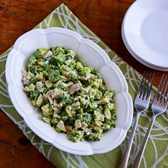 Chicken and Avocado Salad Recipe with Lime and Cilantro (Low-Carb, Gluten-Free) [from KalynsKitchen.com]