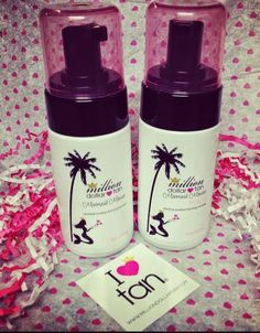 SELF TANNER THAT SMELLS DELICIOUS - Million Dollar Tan Mermaid Mousse (You'll smell like you tropical coconut paradise Mmmm)