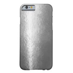 Shiny Silver Barely There iPhone 6 Case