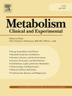 Публикации в журналах, наукометрической базы Scopus   Metabolism #metabolism #Journals #публикация, #журнал, #публикациявжурнале #globalpublication #publication #статья