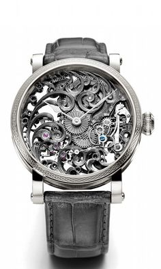 When #luxury meets high-end #horology Grieb & Benzinger Shades of Grey - Grey Tulip watch!