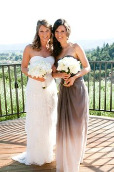 ombre bridesmaid dress - that is gorgeous!
