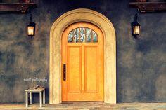 Door Arched Door Abeja Winery Walla Walla by MScottPhotography