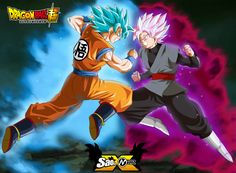 goku vs black posters dragon ball super by naironkr - Visit now for 3D Dragon Ball Z shirts now on sale!
