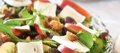 Hedelmäinen viikuna-juustosalaatti | Pääruoat | Reseptit – K-Ruoka