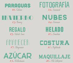 recursos molongos: 40 tipografías en mayúsculas | milowcost♥