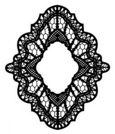 Creative Expressions Stamps to Die For - Delicate Lace Pre-Cut Stamp