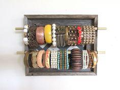 Jewelry+Organizer+Jewelry+Bar+Bracelet+Bar+Storage+by+TheHopeStack,+$36.50