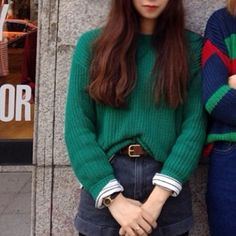 Cute jumper and jeans