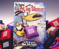 Everyone with a dog MUST have a Pet Tag Silencer!!  the are the best invention ever!!!!     Pet Products, dog tags, t shirt, bumper stickers, dog products.