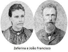 Casam-se em 20 de dezembro de 1882, em Vacaria/RS, João Francisco Rodrigues (22 anos) e Zeferina Perpétua da Fonseca (21 anos). Tiveram 7 filhos: Petrolina (casou com seu primo Máximo de Andrade Paim), Trajano (casou com sua primo Alice Rodrigues Paim), Elvira (casou com seu primo Adão Paim de Andrade), Aurélio, Joselino (apelido: Josa), João (apelido: alemão, casou com Julieta, irmã de Jovita Vieira Rodrigues) e Mário (casou com Jovita).