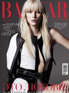 b2de880672d1 Veroniek Gielkens Covers Harper s Bazaar Kazakhstan February 2015 Febrero  2015