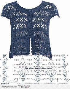 Fabulous Crochet a Little Black Crochet Dress Ideas. Georgeous Crochet a Little Black Crochet Dress Ideas. Crochet Bolero Pattern, Gilet Crochet, Crochet Jacket, Freeform Crochet, Crochet Cardigan, Crochet Shawl, Crochet Vests, Lace Knitting, Knitting Patterns