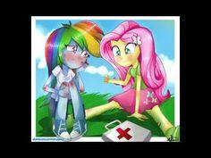 Fluttershy + Rainbow Dash = ❤ - YouTube