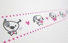 Large Decotape Doggy Stationery Heaven - http://www.stationeryheaven.nl/largeadhesivedecotape
