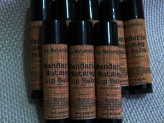 Fall Collection      All Natural Lip Balm .15 ounce by aunaturelle, $3.50