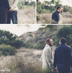 Jeff & Josh | Eaton Canyon Engagement Session (Gina & Ryan Photography) - See more: http://ginaandryan.com/eaton-canyon-engagement-session-jeff-josh/