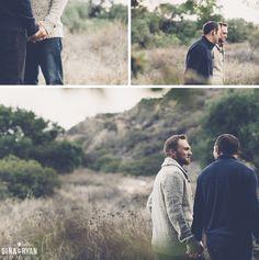 Jeff & Josh   Eaton Canyon Engagement Session (Gina & Ryan Photography) - See more: http://ginaandryan.com/eaton-canyon-engagement-session-jeff-josh/